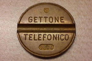 Gettone telefonico CUT