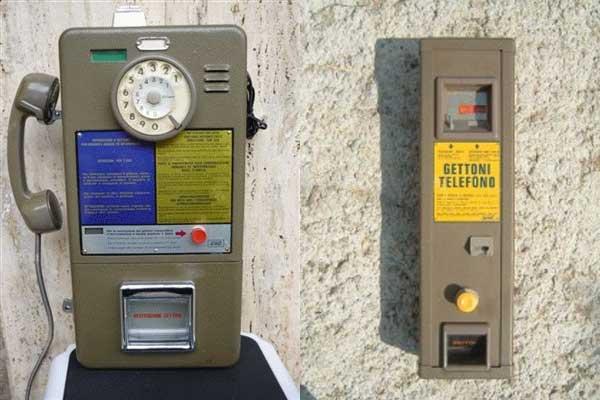 Gettone-telefonico-telefono+distributore