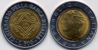 monete 500lire_1993_banca_italia_96