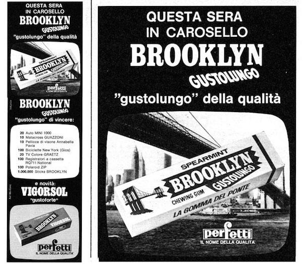 Gomme da masticare -adv Brooklyn