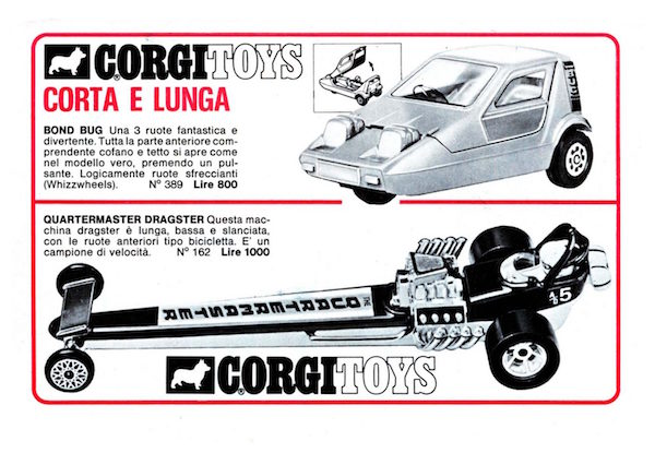 corgitoys cars 1