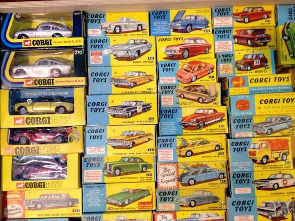 corgitoys cars 6