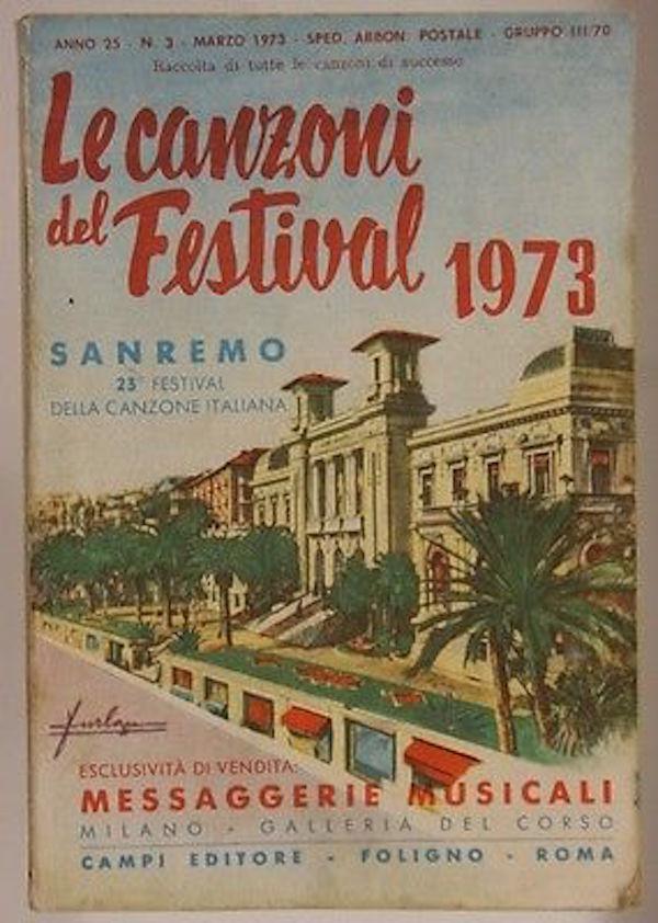 Libretto canzoni Sanremo 1