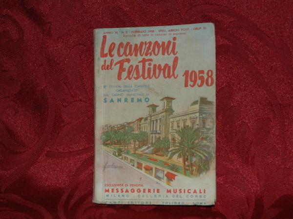 Libretto canzoni Sanremo 3