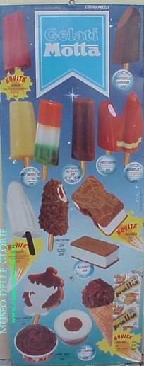 I gelati degli anni '70