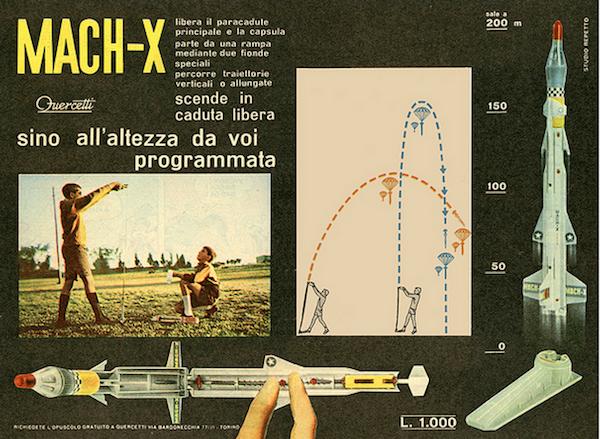 Missile Mach-X Quercetti 1