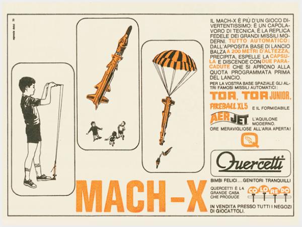 Missile Mach-X Quercetti 2