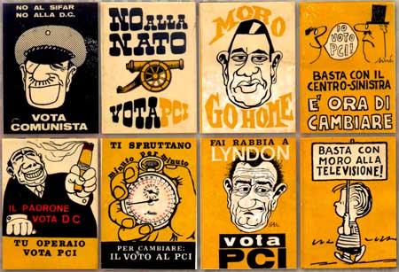campagna elettorale 60 volantini pci