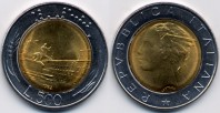 monete 500lire96