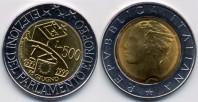 monete 500lire_1999_parlamento_96