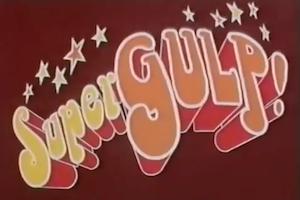 Il programma di cartoni animati supergulp fumetti in tv