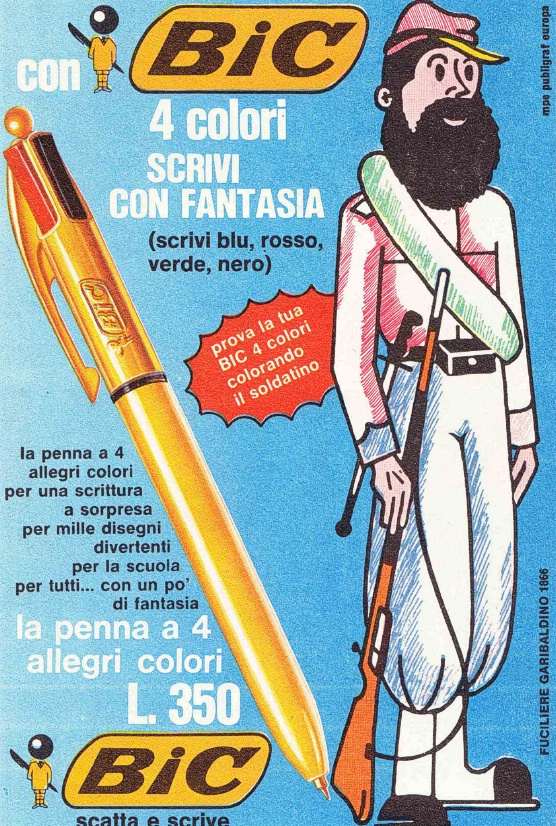 Penne stilografiche e multicolore - BIC 4 colori