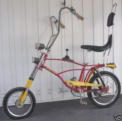 Bicicletta Saltafoss E Bicicletta Tin Tin Ager