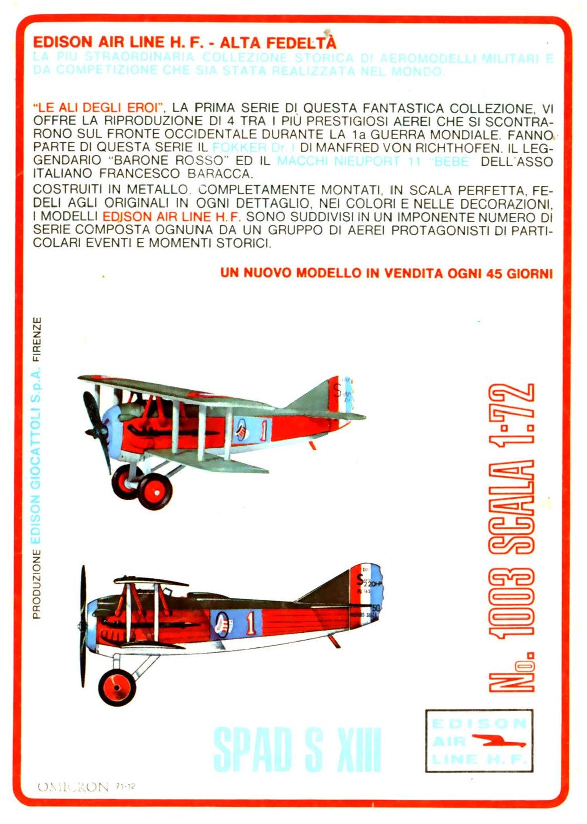 Edison 2 Air Lines H.F