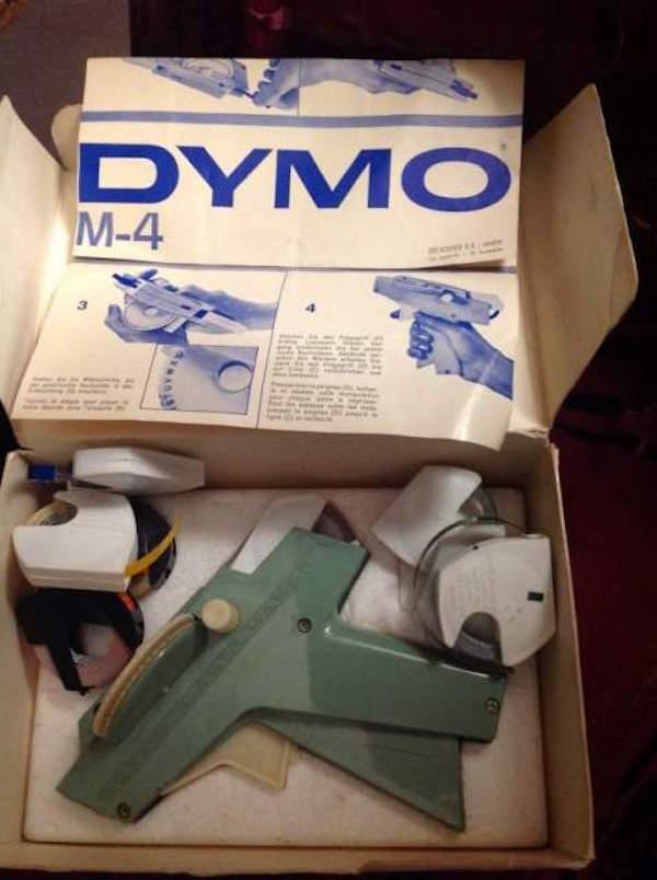 Etichettatrice Dymo 4