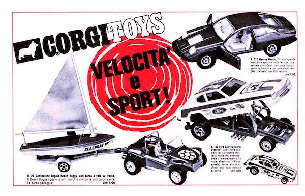 corgitoys cars 3
