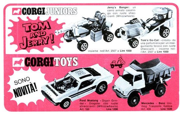corgitoys cars 4