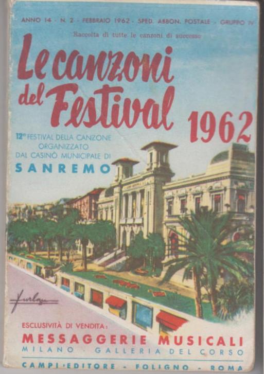 Libretto canzoni Sanremo 7
